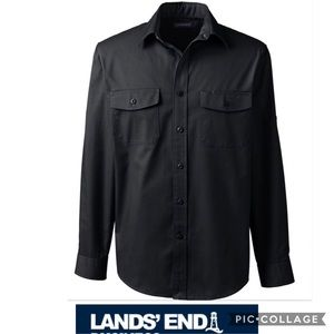 LANDS END Women Shirt